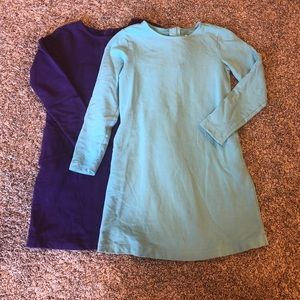 Primary • Purple/aqua sweater dresses